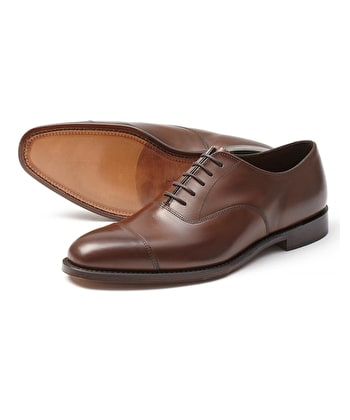 Aldwych Oxford Shoe - Dark Brown