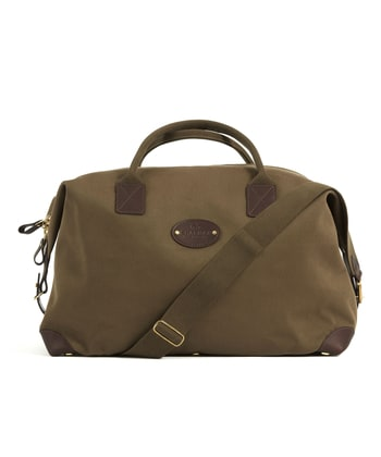 Travel Holdall - Dark Olive