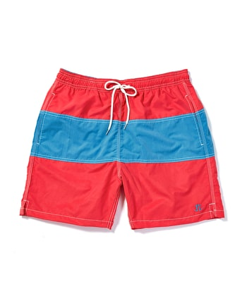 Swimming Trunks - Red/Blue