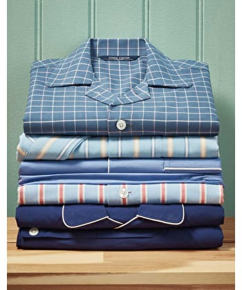 Pyjamas - Savoy Blue (Fine Cotton)