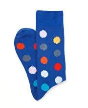 Spotty Cotton Socks