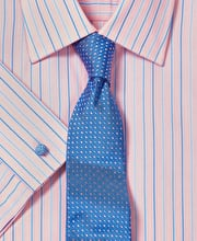 Pink/Blue End-on-End Stripe