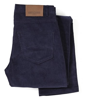Needlecord Jeans - Dark Blue
