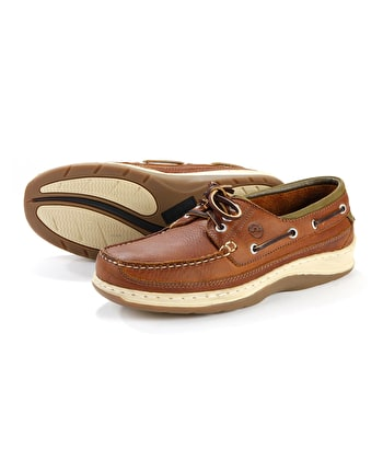 Squamish Deck Shoe - Havana