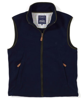 Coverdale Fleece Gilet - Navy