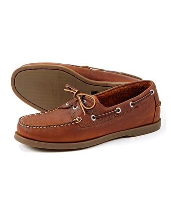 Creek Deck Shoes - Havana