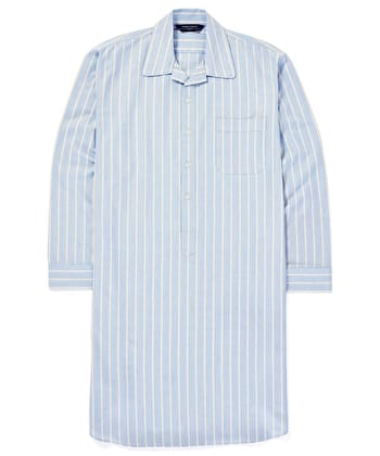 Nightshirt - Blue/Yellow (Brushed)