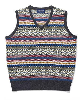 Fair Isle Slip-Over - Multicolour