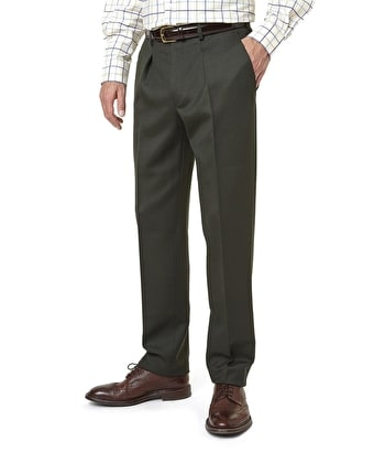 Cavalry Twill Trousers - Olive