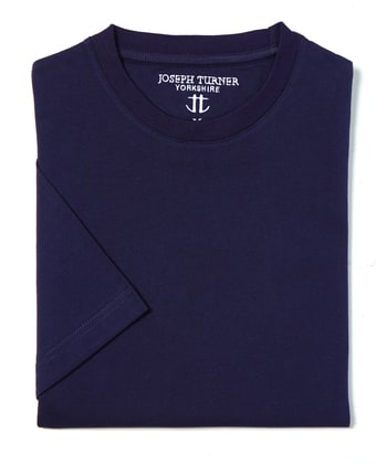 Cotton T-Shirt - Dark Navy