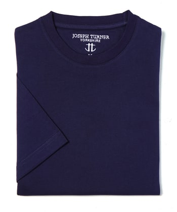 Cotton T-Shirt - Navy