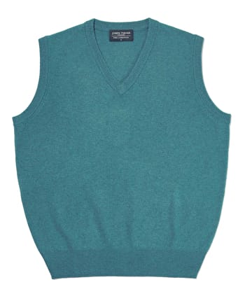 Lambswool - Slipover - Teal