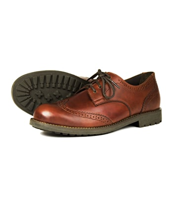 Country Brogue Shoe - Elk