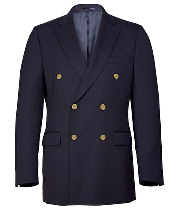 Double Breasted Blazer - Navy