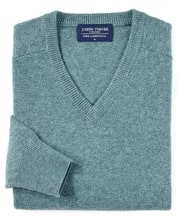 Lambswool Jumper - V Neck