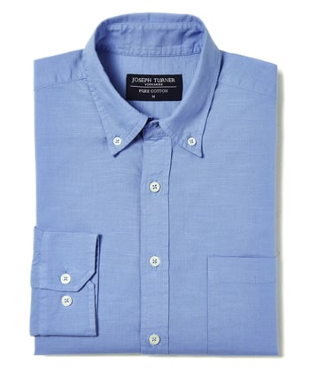 Staithes Button-Down Shirt - Blue