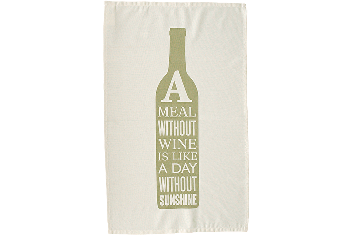 Wine Green - Tea Towel