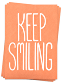 Keep Smiling - Postcards