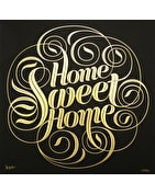 Home Sweet Home - Gold