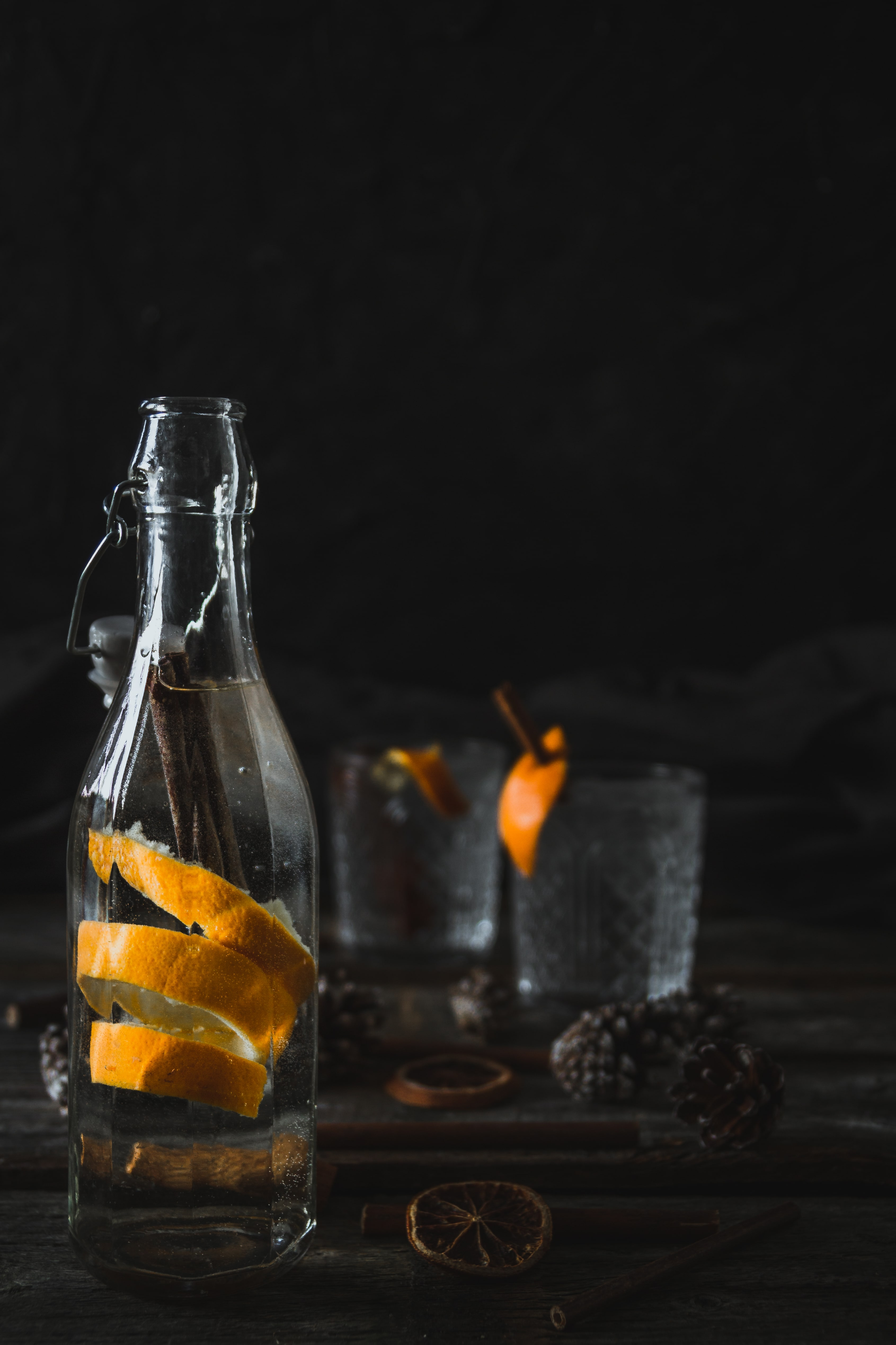 Orange and Cinnamon Gin