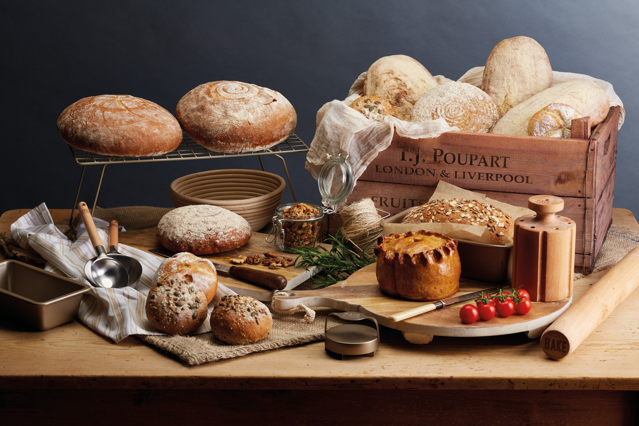 Introducing our Paul Hollywood Baking & Kitchen Prep  Collection