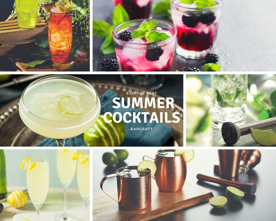 6 Of The Best Summer Cocktails With BarCraft