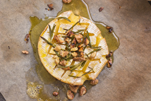 Camembert with a twist