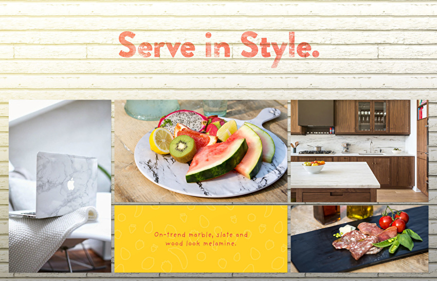 Serve in Style!