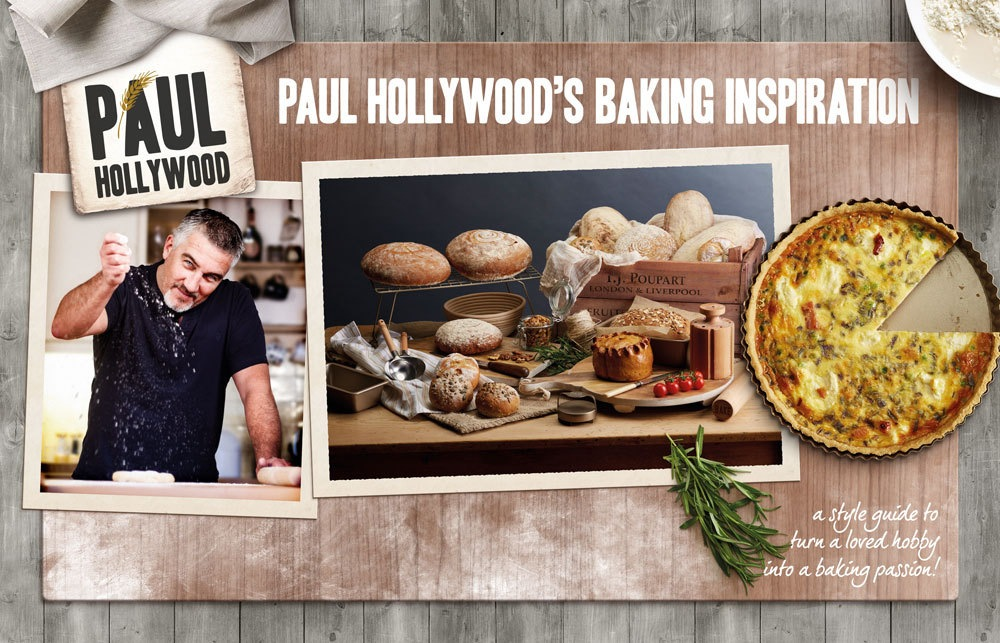 Paul Hollywood Lookbook