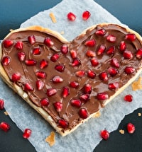 Chocolate pizza, what's not to love! #artesadining