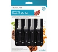 KitchenCraft Deluxe 6 Piece Steak Knife Set