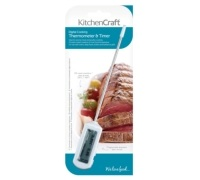 KitchenCraft Electronic Digital Thermometer and Timer