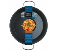 KitchenCraft World of Flavours Mediterranean 32cm Paella Pan