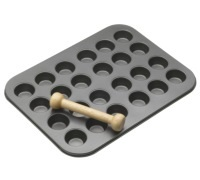 MasterClass Non-Stick 24 Hole Mini Tin