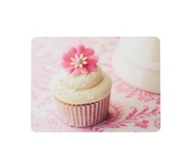 KitchenCraft Cupcake Cork Back Laminated Set of 4 Placemats
