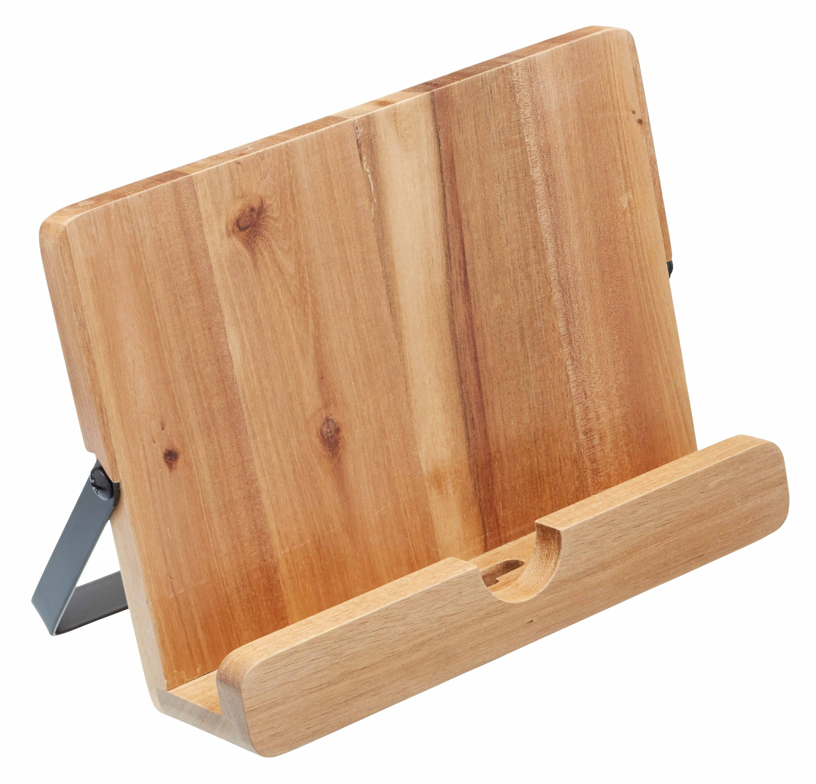 KitchenCraft Natural Elements Acacia Wood Cookbook / Tablet Stand ...