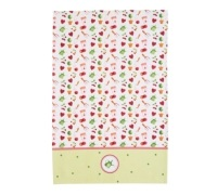 Kitchen Craft Set of 2 Garden Patterned Tea Towels