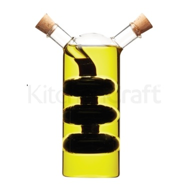 KitchenCraft Italian 2 in 1 Oil & Vinegar Cruet Bottle