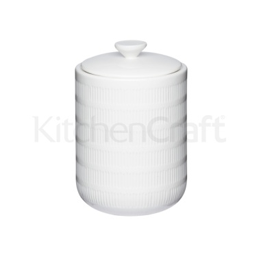 Calico Ceramic Large Storage Jar
