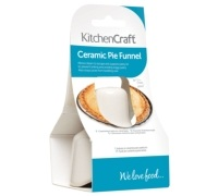 KitchenCraft Ceramic Pie Funnel