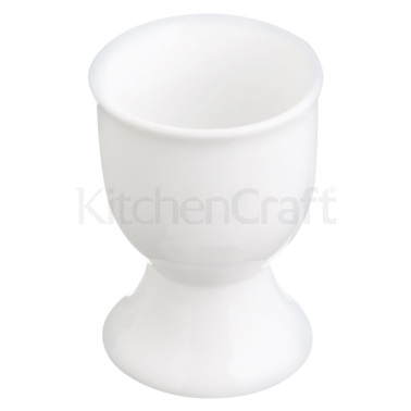 KitchenCraft White Porcelain Egg Cup
