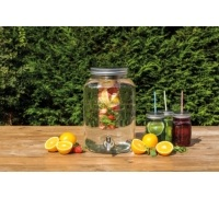 Home Made 7.5 Litre Glass Infuser Drinks Dispenser