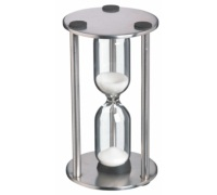 Master Class Stainless Steel Traditional Three Minute Timer