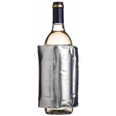 Bar Craft Wrap Around Silver Wine Cooler