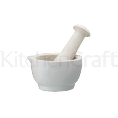 Home Made Ceramic 8.5cm Mortar and Pestle