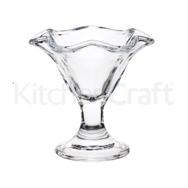 World of Flavours Stateside Glass Ice Cream Sundae Dish