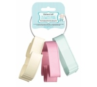 Sweetly Does It Set of 3 Baby Themed Cookie Cutters