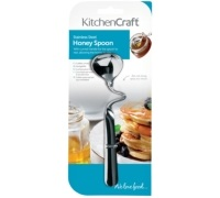 KitchenCraft Stainless Steel Honey Spoon