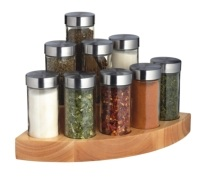 Master Class 9 Jar Worktop Corner Spice Set