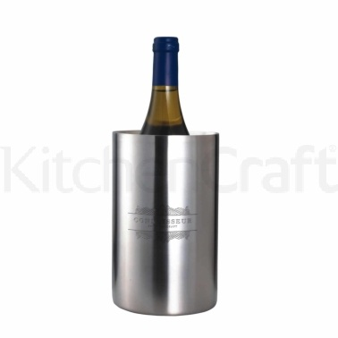 Bar Craft Stainless Steel Double Walled Wine Cooler